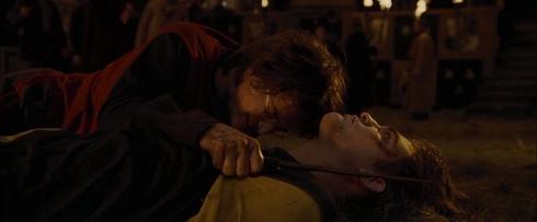 Harry Potter et la Coupe de Feu scène mort de Cédric