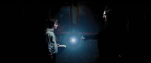 Harry Potter et le prisonnier d'Azkaban ombre et lumière lumos