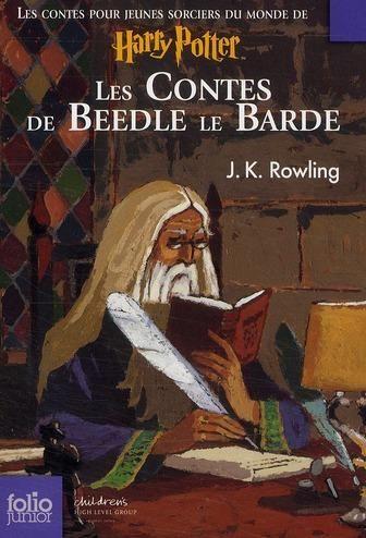 Les Contes de Beedle le Barde - Couverture Gallimard Jeunesse Folio Junior par Jean-Claude Götting