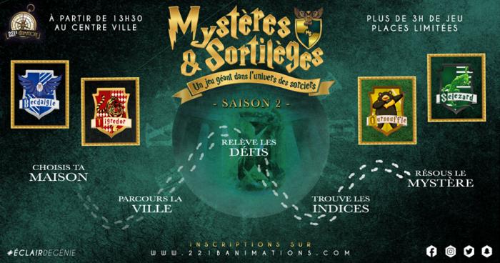 Mystères & sortilèges : deuxième saison pour ce jeu géant inspiré de Harry Potter ! (+CONCOURS)