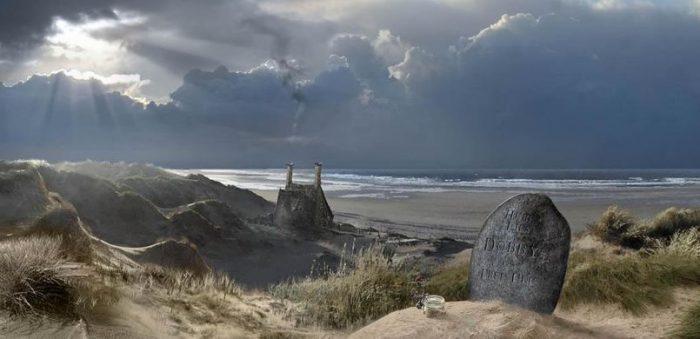 La pierre tombale de Dobby au Pays de Galles volatilisée