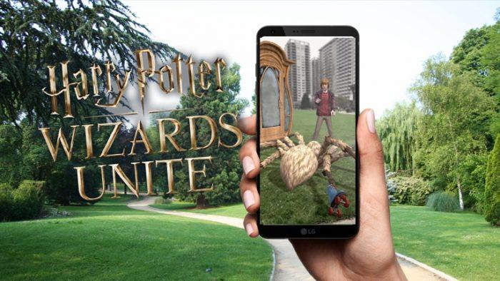 Nouvelles images de Wizards Unite !