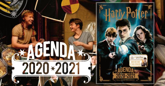 Agenda Harry Potter par Gallimard Jeunesse pour la rentrée !