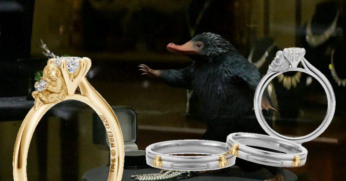 U-Treasure lance des bagues Animaux Fantastiques au Japon