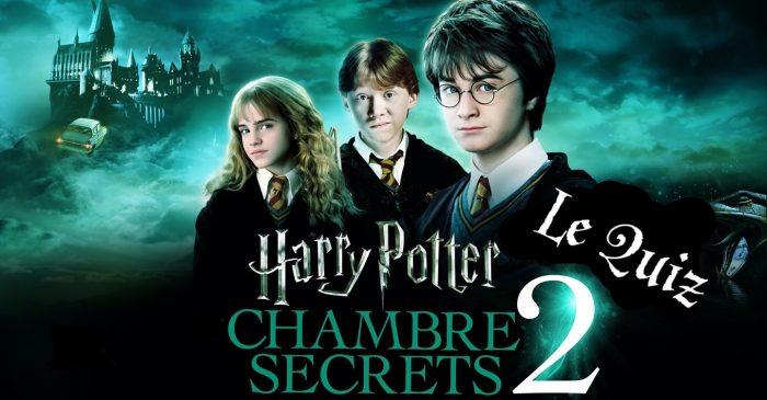 Harry Potter et la Chambre des Secrets à la télé – le quiz
