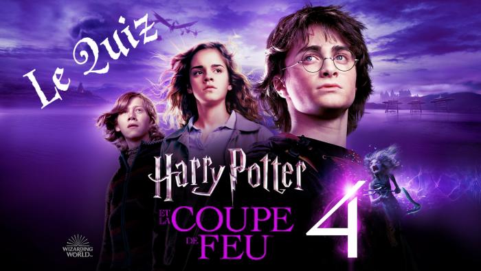 Harry Potter et la Coupe de Feu à la télé – le quiz