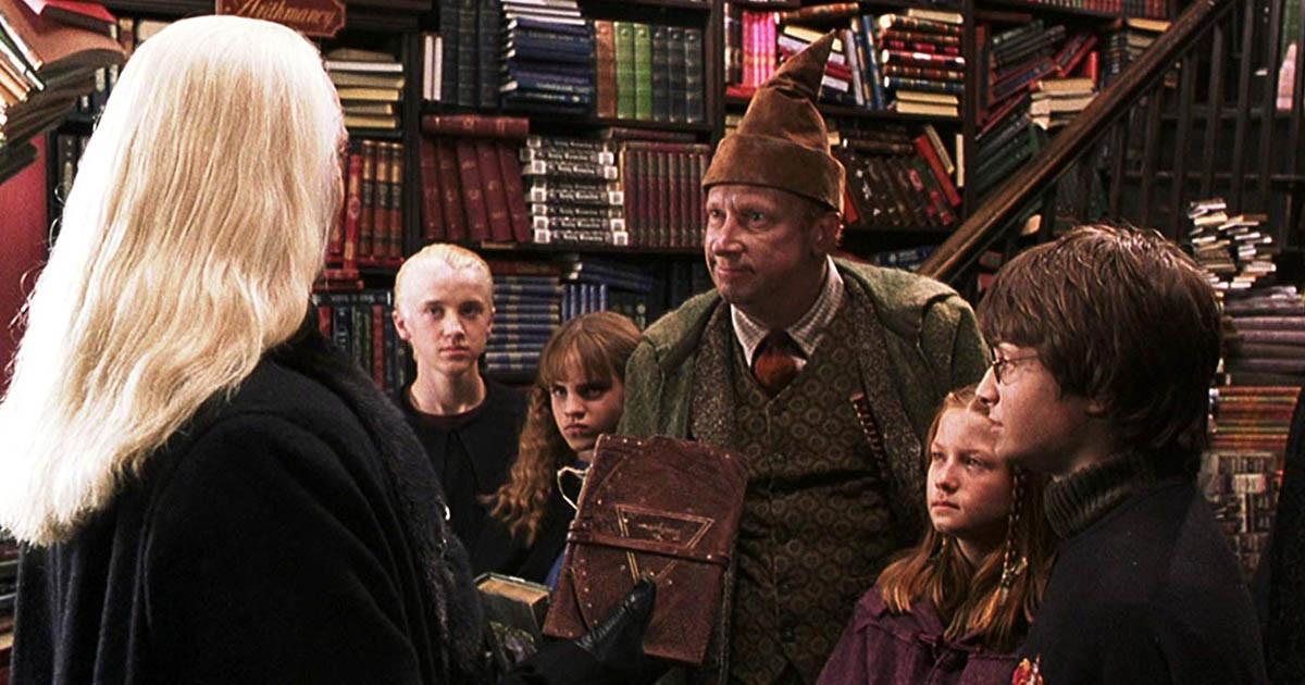 Lucius Malefoy et les Weasley Fleury & bott