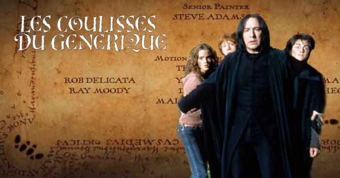 Dans les coulisses du générique de Harry Potter 3