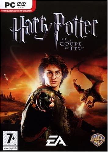 Jacquette du jeu vidéo Harry Potter et la Coupe de Feu.