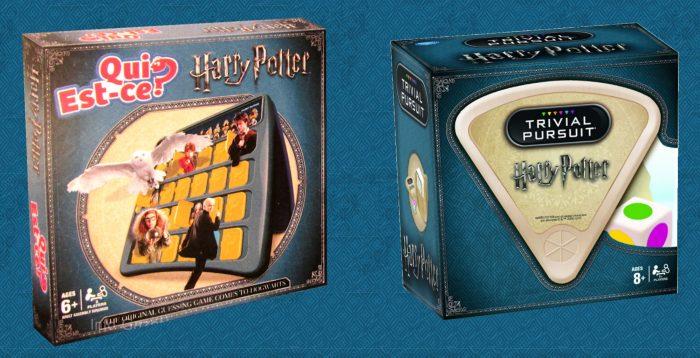Trivial Poursuit Harry Potter en français, et autres nouveautés !