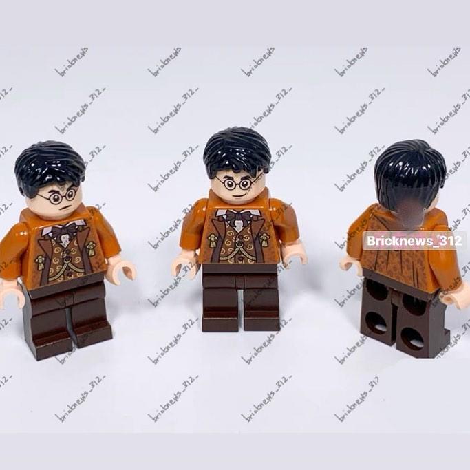 LEGO 2020 : Tête de Harry et corps de Slughorn set Tour d'Astronomie