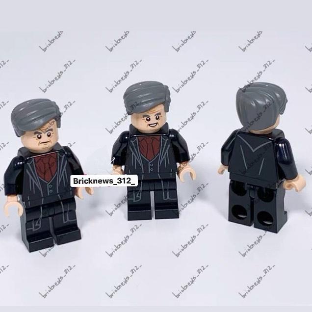 LEGO 2020 : Tête de Slughorn et corps de Harry set Tour d'Astronomie