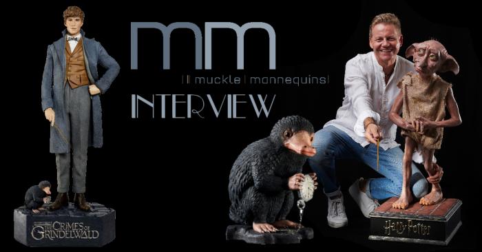 Dobby, Newt et le niffleur grandeur nature chez Muckle Mannequins – interview