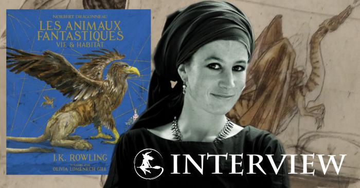 Exclusif : Interview de Olivia Lomenech Gill, illustratrice des Animaux fantastiques