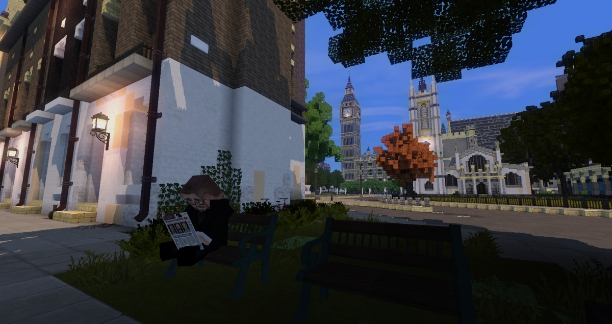 Minecraft - Londres moldu