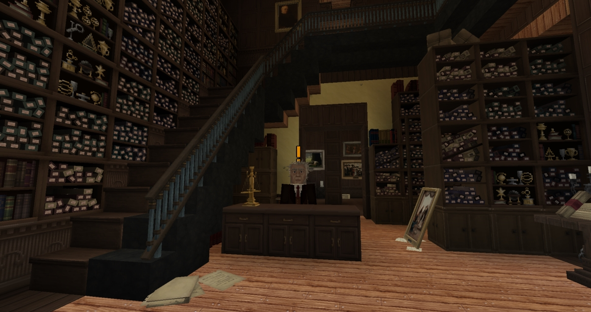Minecraft - Boutique de Ollivanders