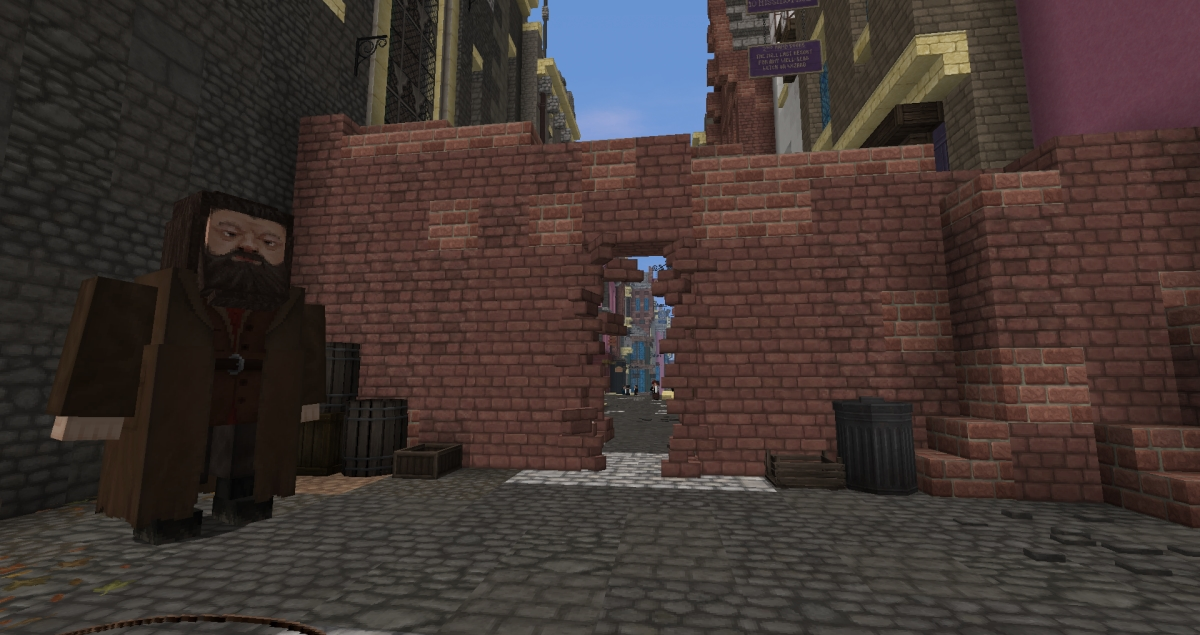 Minecraft - Passage du Chemin de Traverse