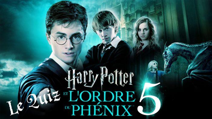 Harry Potter et l'ordre du Phénix à la télé – le quiz