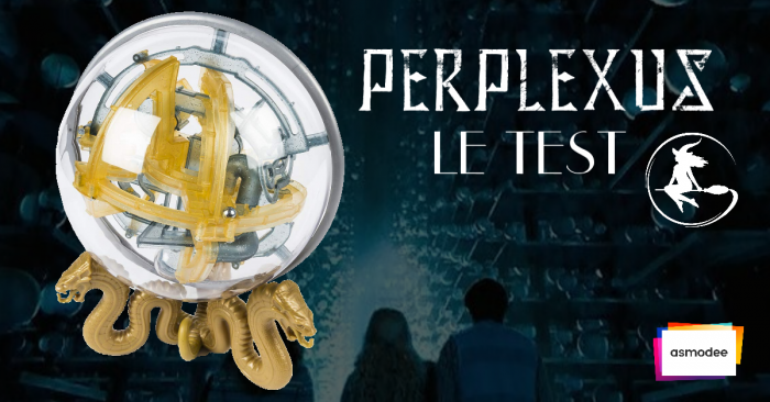 Test – Le Perplexus Harry Potter, un labyrinthe en 3D