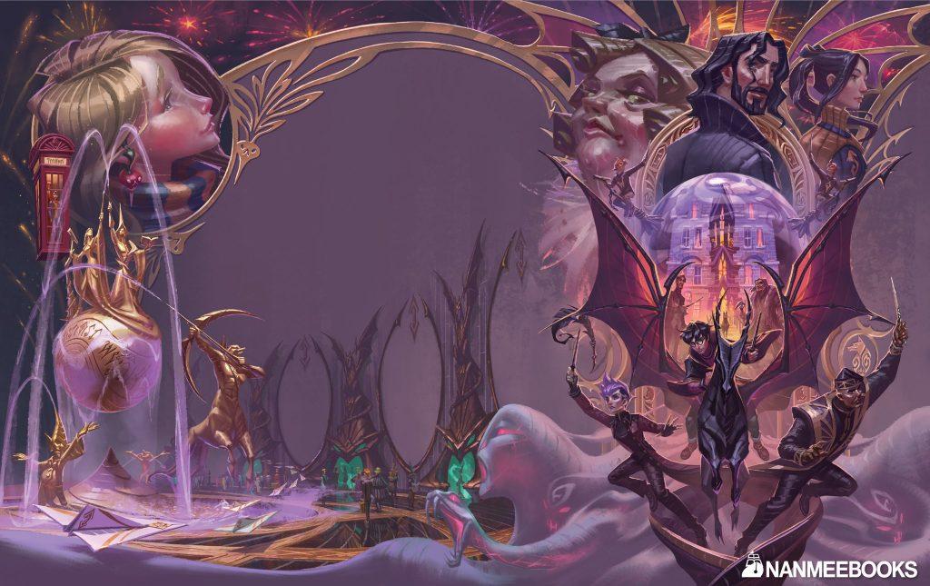 Couverture de Harry Potter et l'Ordre du Phénix en Thaï, par Apolar