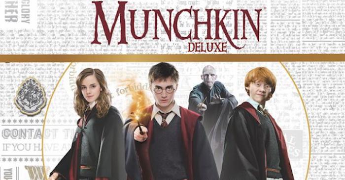 Munchkin et Harry Potter s'associent dans un tout nouveau jeu de société !