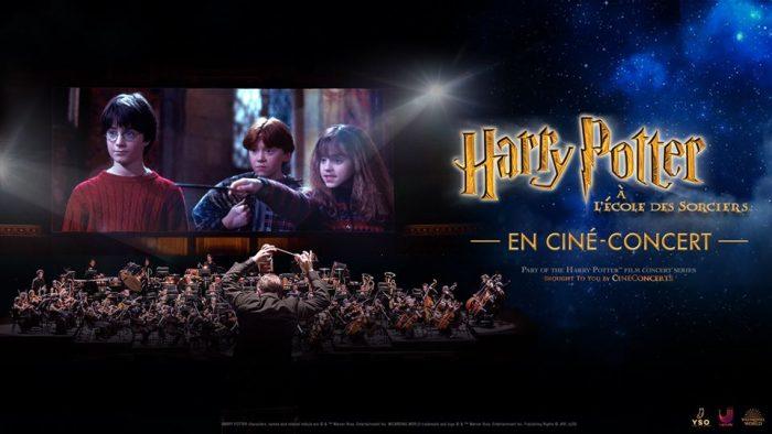 Harry Potter à l'école des sorciers en ciné-concert : bientôt en tournée en France !