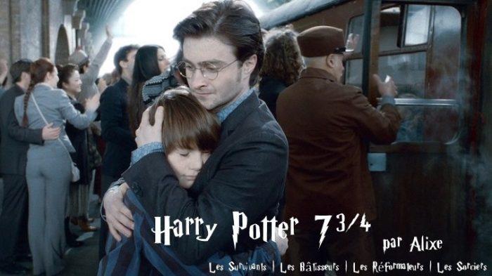 Harry Potter 7 3/4 – entre la Bataille de Poudlard et l'épilogue des Reliques de la Mort
