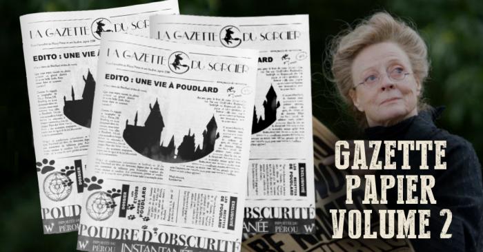 La Gazette du Sorcier version papier – deuxième numéro !