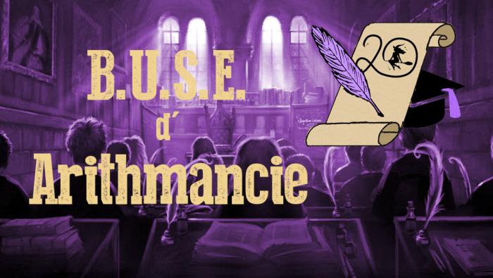 BUSE d'Arithmancie – Session 2020