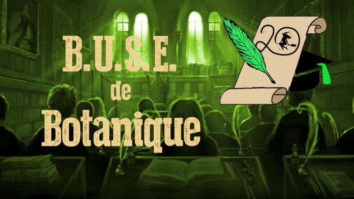 BUSE de Botanique – Session 2020