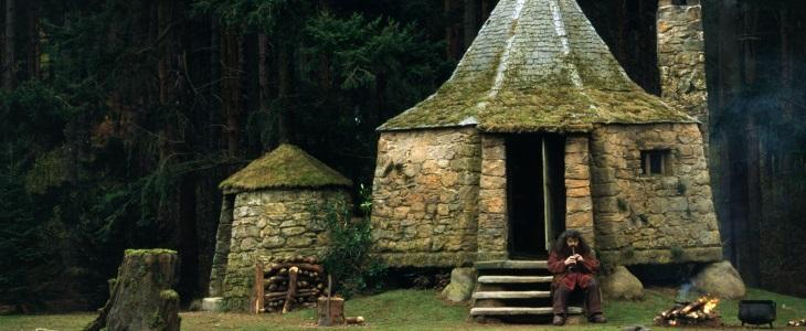 La cabane de Hagrid dans Harry Potter