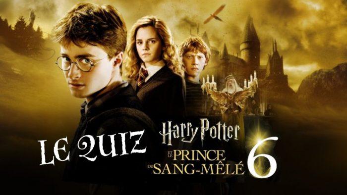 Harry Potter et le Prince de sang-mêlé à la télé – le quiz