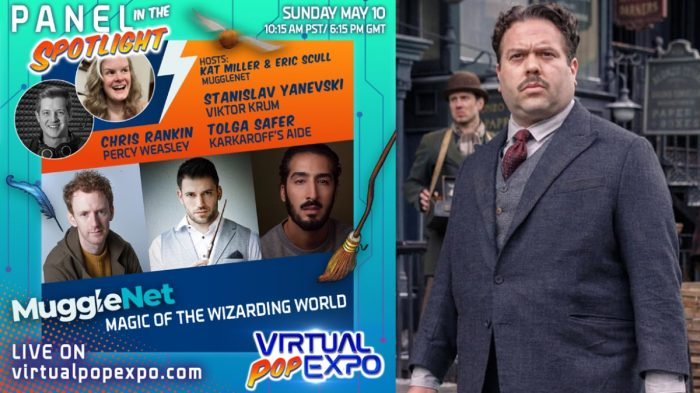 Plusieurs acteurs de Harry Potter et Animaux Fantastiques à la Virtual Pop Expo les 9 et 10 mai !