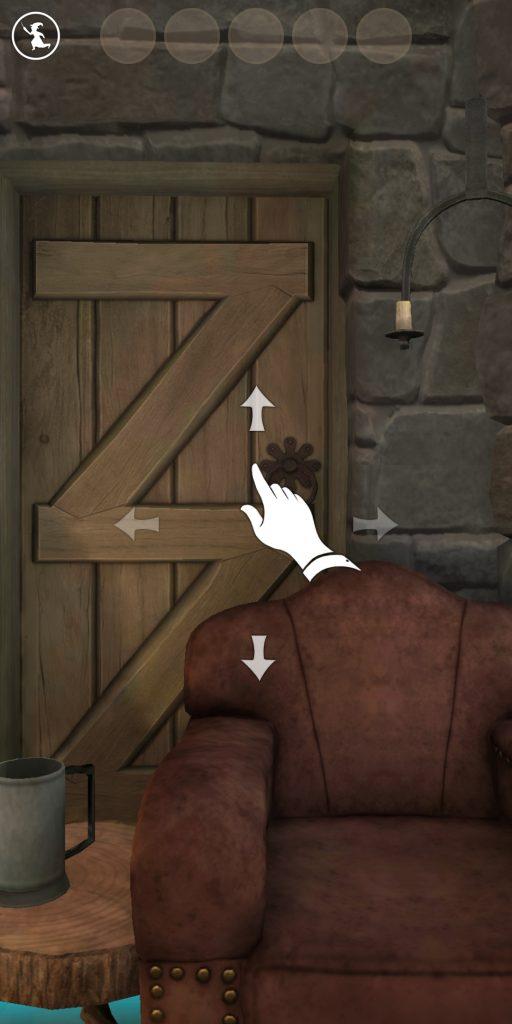 Ouverture d'un portoloin cabane de Hagrid dans Wizards Unite avec la réalité virtuelle désactivée