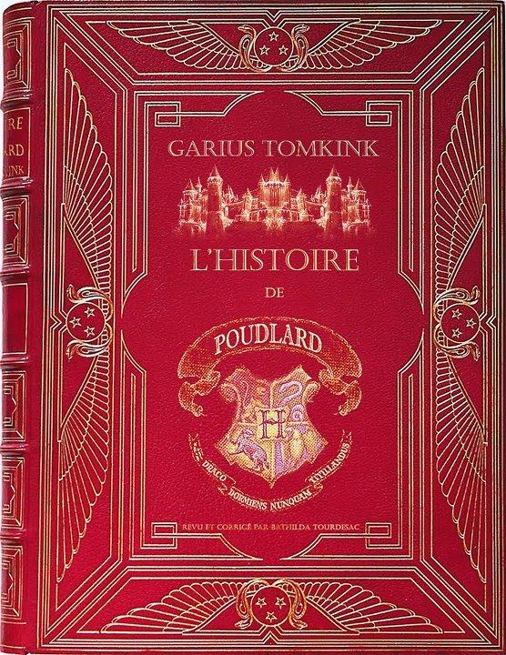 Couverture fanmade de l'histoire de Poudlard
