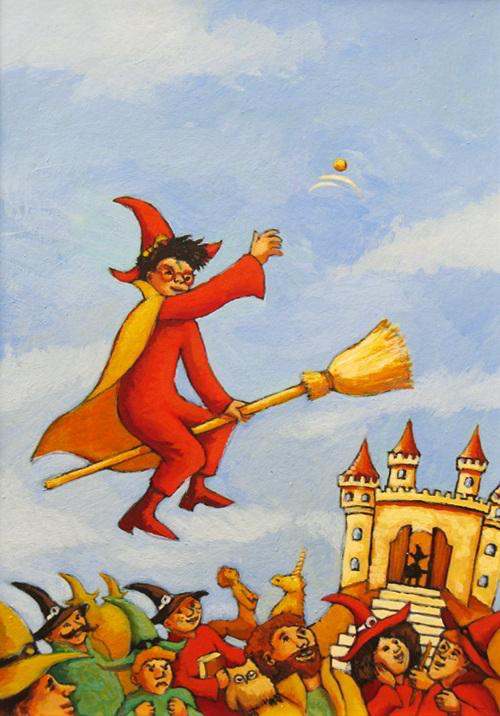 Harry Potter par Emily Walcker - couverture test pour Gallimard
