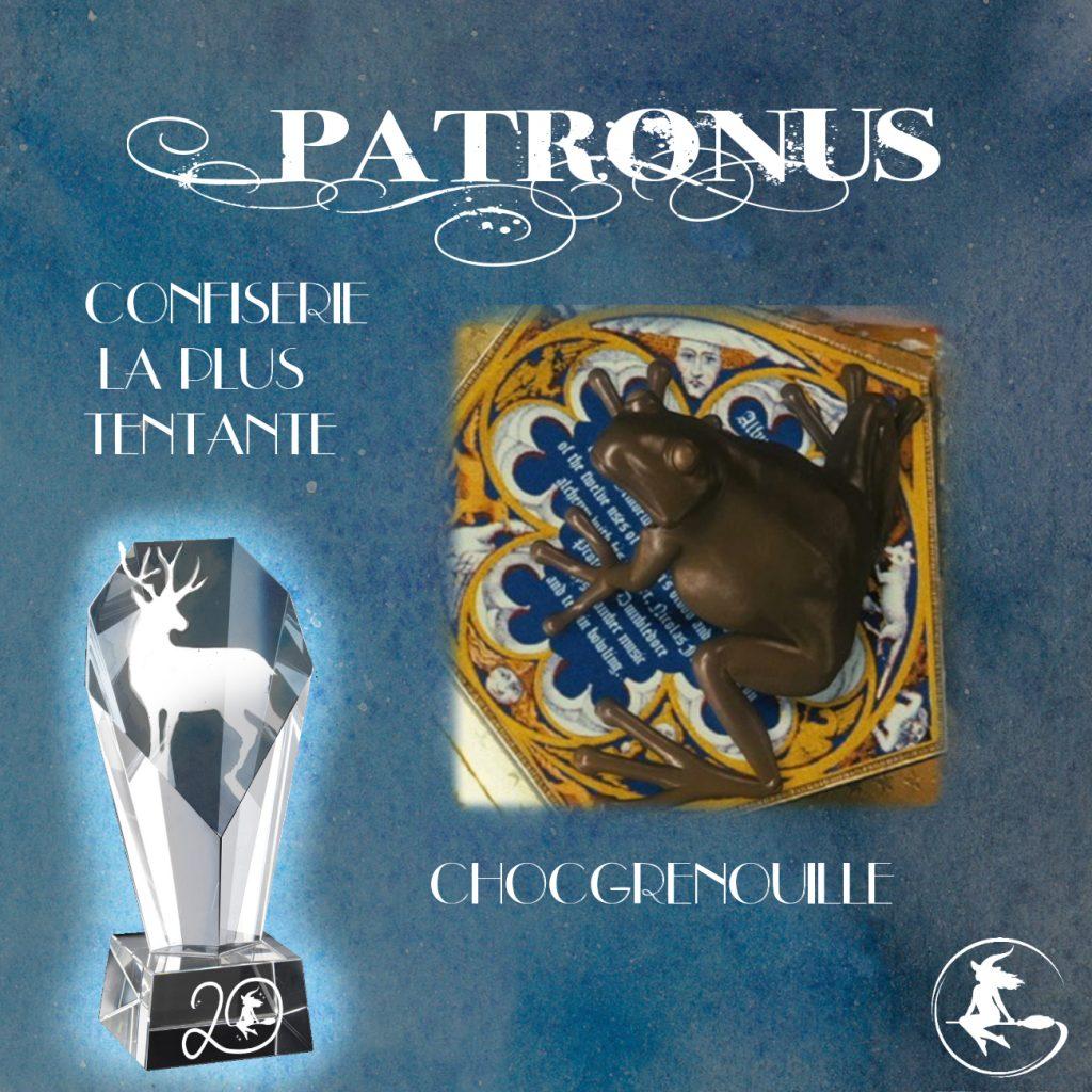 Prix patronus - lauréat confiserie du monde magique de Harry Potter
