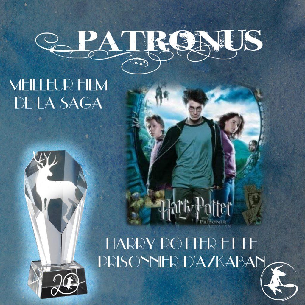 Prix patronus - Meilleur film Harry Potter