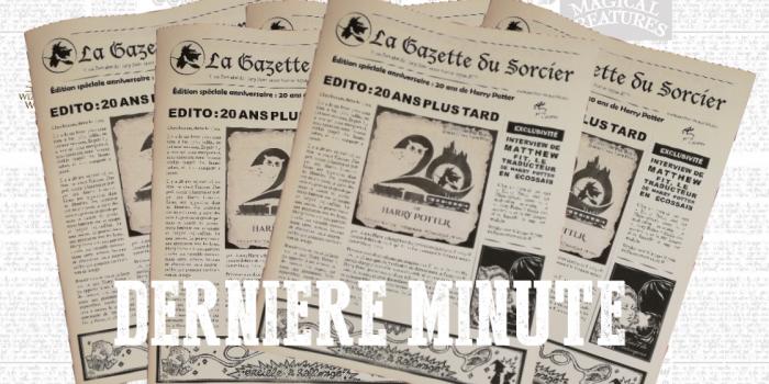 La Gazette du Sorcier… version papier ! [MàJ : commande en ligne ouverte !]