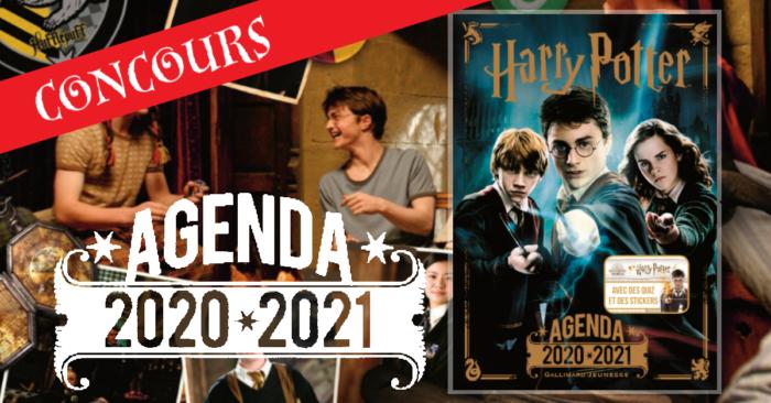 Concours – Gagnez un agenda Harry Potter par Gallimard Jeunesse