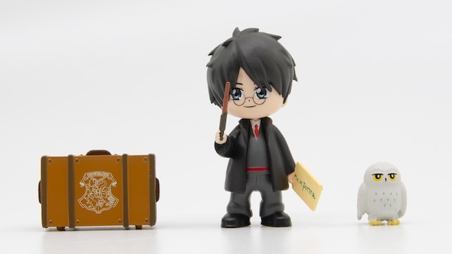 figurine Harry capsule magique yu me toy