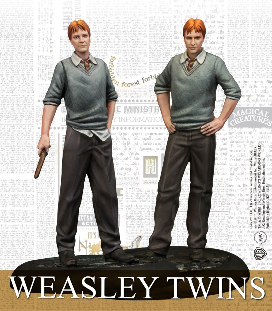 Knight Models - Fred et George Weasley
