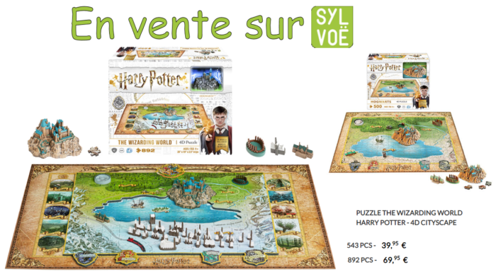 Puzzles 3D Harry Potter chez Sylvoë !