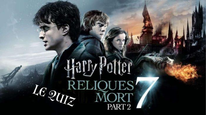 Harry Potter et les reliques de la mort, partie 2 – le quiz