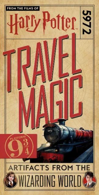 Première de couverture livre Travel Magic