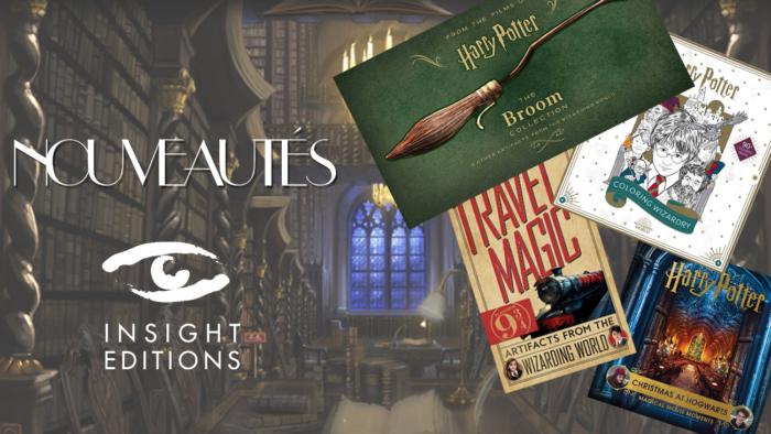 Nouveautés Harry Potter chez Insight Editions
