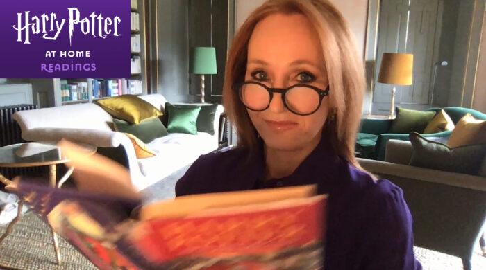 J.K. Rowling lit le dernier chapitre de L'école des Sorciers pour Harry Potter at Home