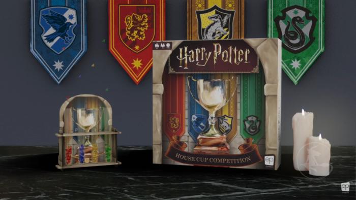 Le jeu 'Harry Potter : Coupe des 4 maisons' en approche !