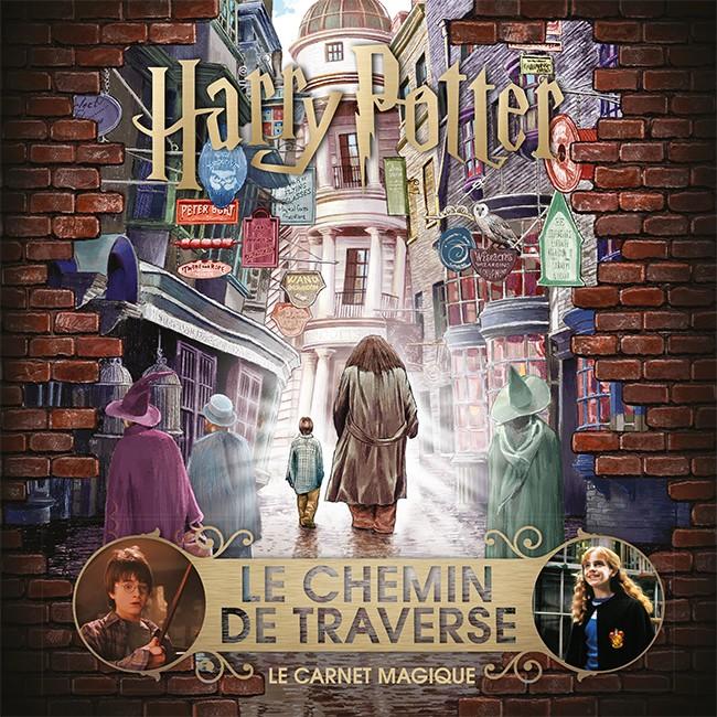 Couverture de Le Chemin de Traverse Le Carnet Magique chez Gallimard Jeunesse