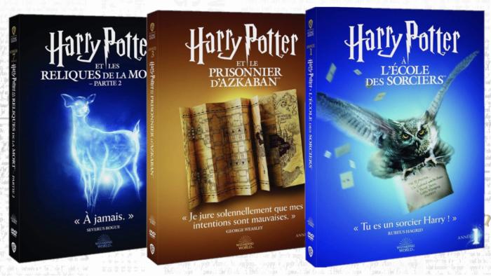 DVD et Blu-Ray du Wizarding World font peau neuve pour la rentrée